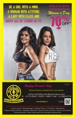 gold's gym ad